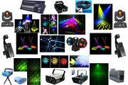 светооборудование,  от простого до профессионального для дискотек